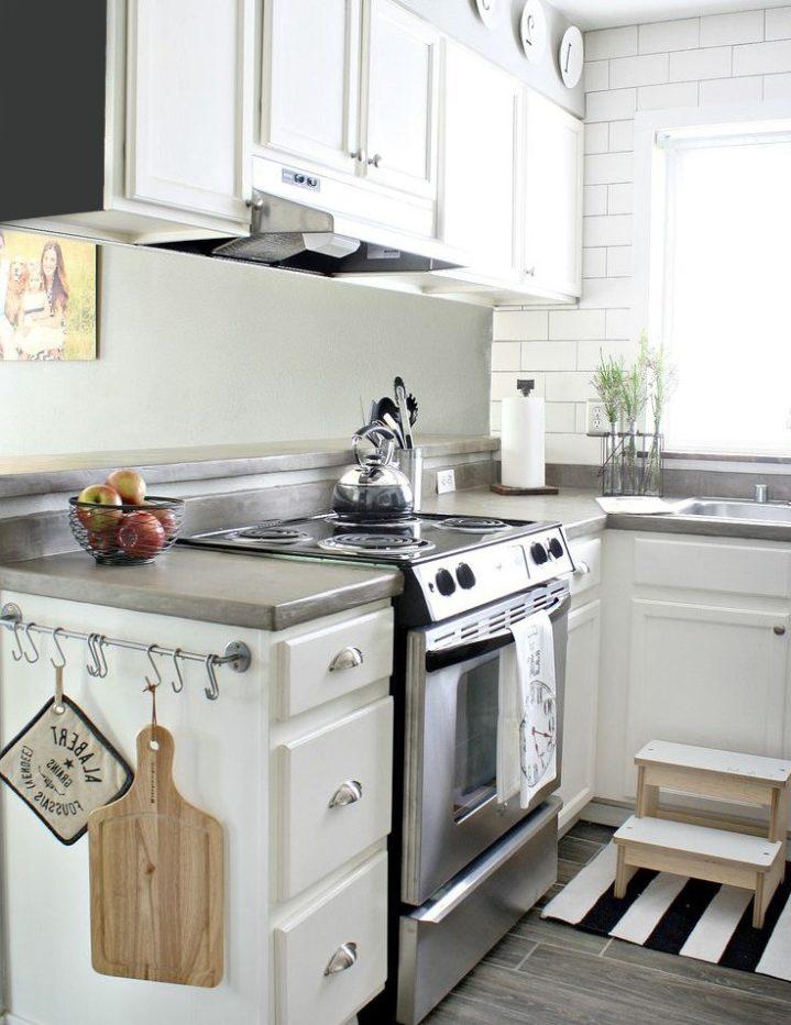 Las 10 ideas de diseño de cocina más pequeñas que parecen más ...